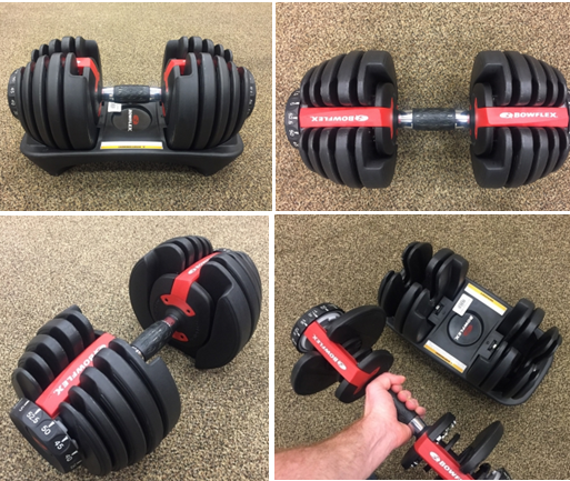 Adjustable Weights Ratings: Bowflex SelectTech 552 Adjustable Dumbbells Review 2018