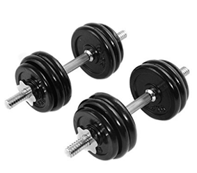 Giantex 66 LB Weight Adjustable Dumbbell Set