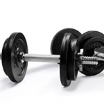 InfiDeals Adjustable Cast Iron Dumbbells with Solid Dumbbell Handles Review
