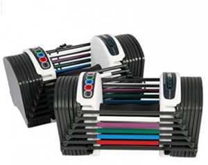 PowerBlock Sport 24-Pound Adjustable Dumbbell Set