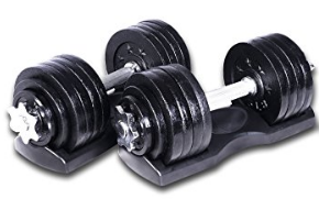 Ring Starring 65 105 200 Lbs. Adjustable Dumbbells