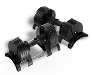 StairMaster Pair of TwistLockAdjustale Dumbbells