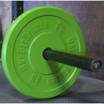 OneFitWonder Barbell + Color Bumper Plates by Fringe Sports Review