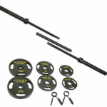 Gold's Gym OlympicBarbell Weight Set Review